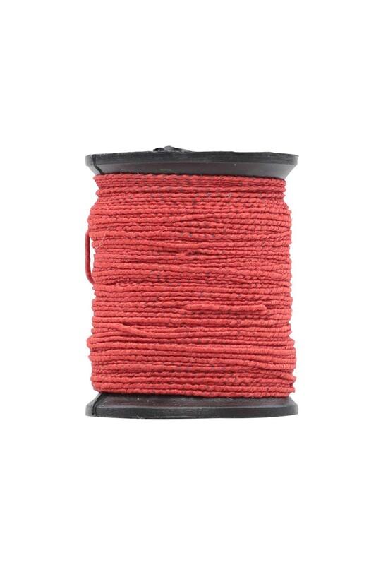 SİMİSSO - Makara Lastik İp | Kırmızı 328