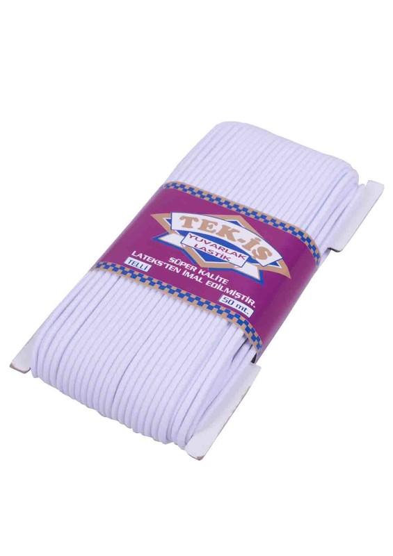 TEK-İŞ - Tek-iş Yuvarlak Lastik 606 | Beyaz