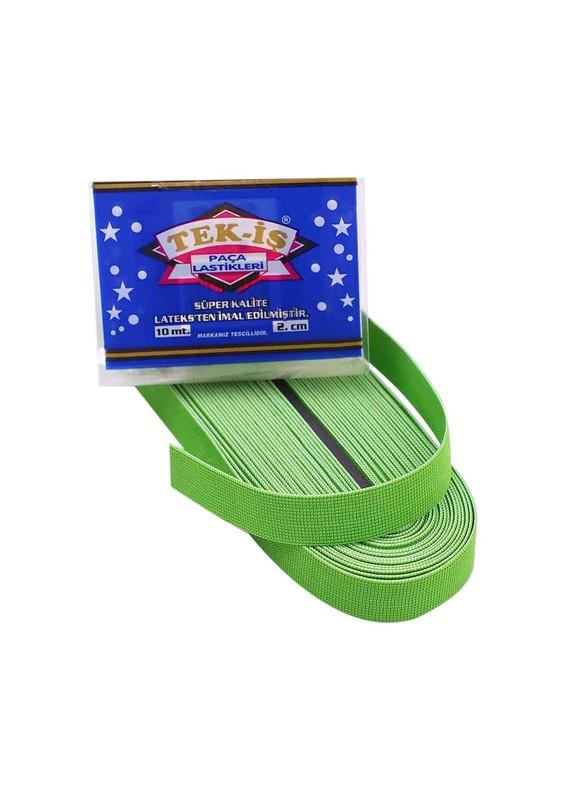 TEK-İŞ - Tek-İş Yassı Lastik 2 Cm 022 | Yeşil