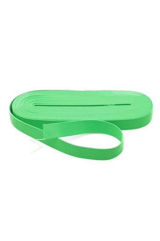 TEK-İŞ - Tek iş Yassı Lastik 2 cm | Yeşil