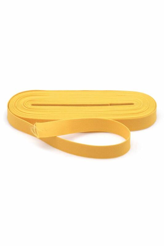 TEK-İŞ - Tek iş Yassı Lastik 2 cm | Sarı