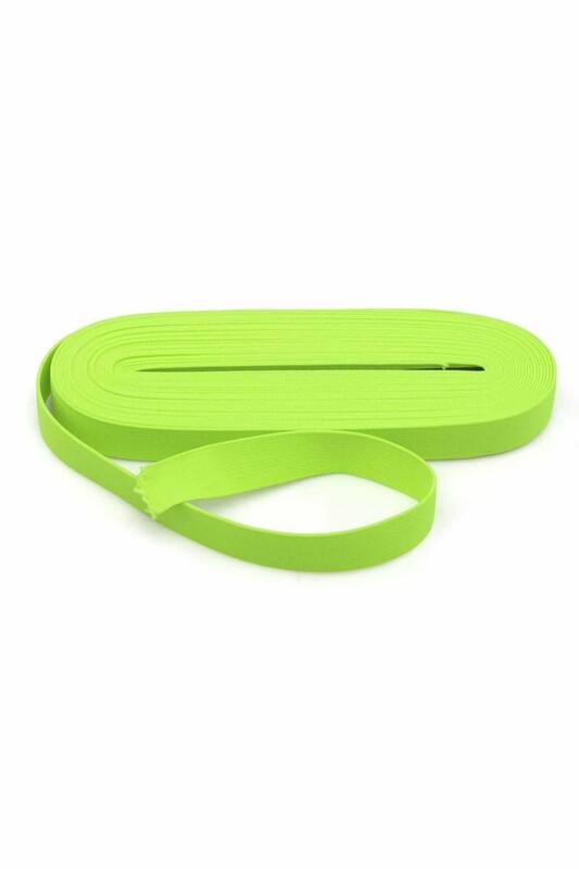 TEK-İŞ - Tek iş Yassı Lastik 2 cm | Neon Yeşil