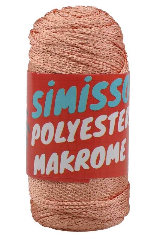 SİMİSSO - Polyester Makrome İpi 100 gr | 2470