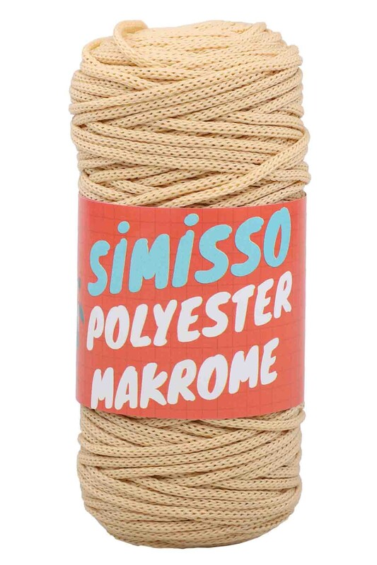 SİMİSSO - Polyester Makrome İpi 100 gr | 2477