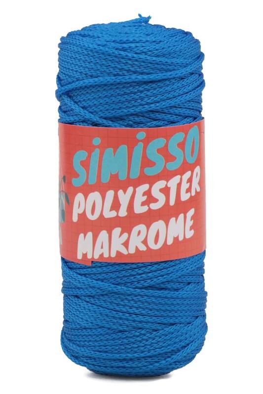 SİMİSSO - Polyester Makrome İpi 100 gr | Saks