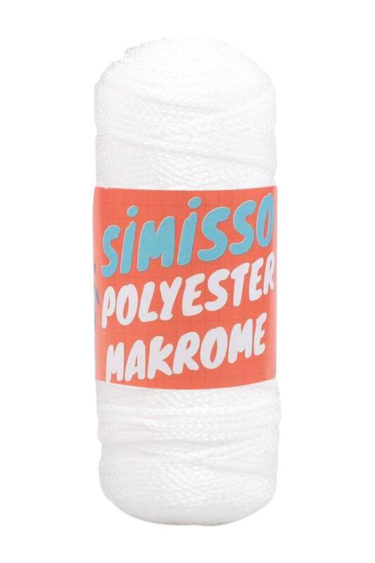 SİMİSSO - Polyester Makrome İpi 100 gr   2463