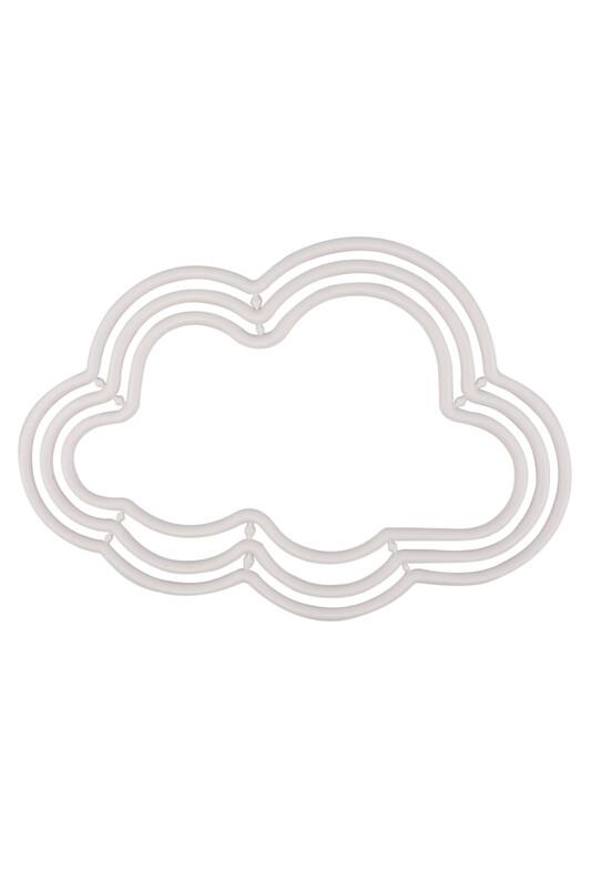 MİR PLASTİK - Bulut Makrome Halkası 3 lü