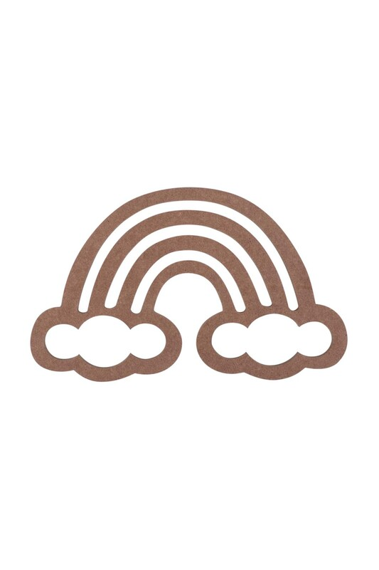 SİMİSSO - Bulut Figürlü Makrome Kasnağı