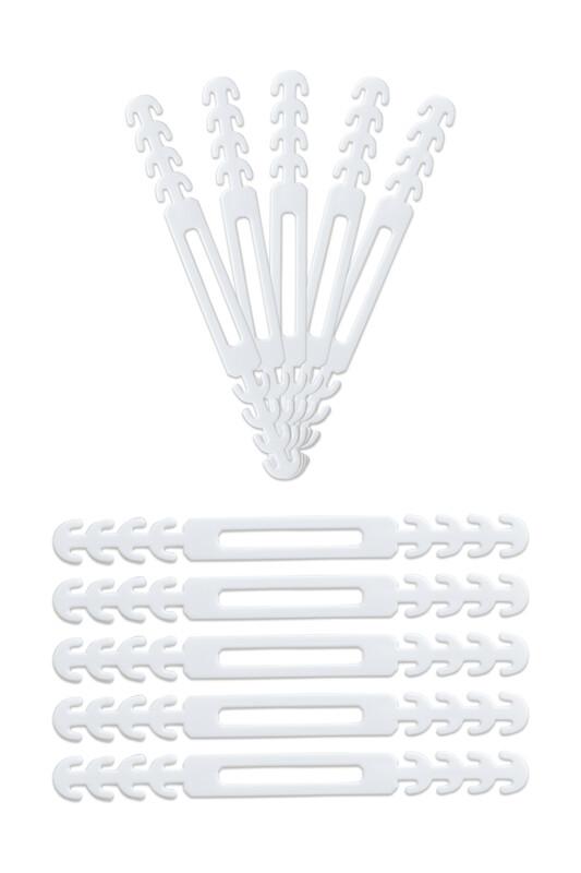 SİMİSSO - Maske Takma Aparatı 10'lu | Beyaz