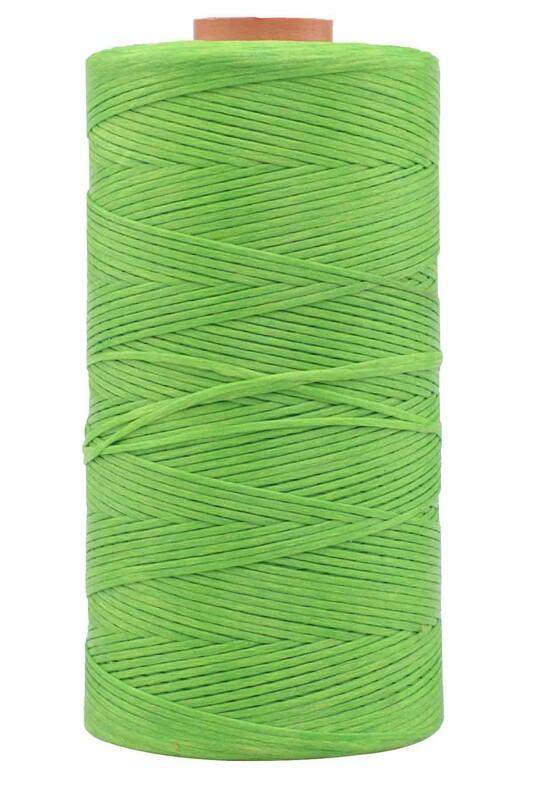 SİMİSSO - Mumlu İp 500 Gr. Yeşil