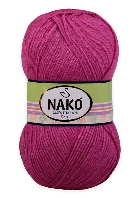 NAKO - Nako Lüks Minnoş El Örgü İpi 100 gr | Yaz Pembe 3658