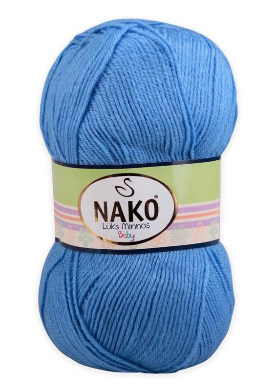 NAKO - Nako Lüks Minnoş El Örgü İpi 100 gr | Denim 1256
