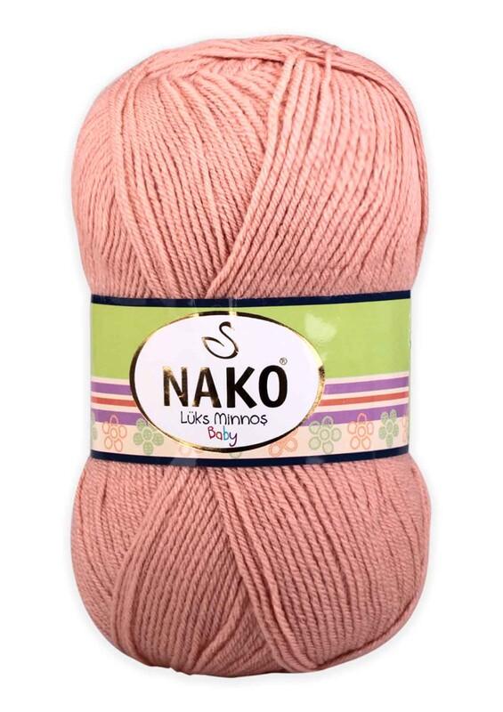 NAKO - Nako Lüks Minnoş El Örgü İpi 100 gr | Ten Pudra 11644