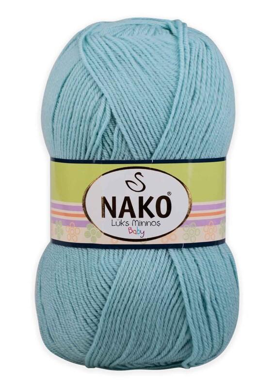 NAKO - Nako Lüks Minnoş El Örgü İpi 100 gr | Azur 10482