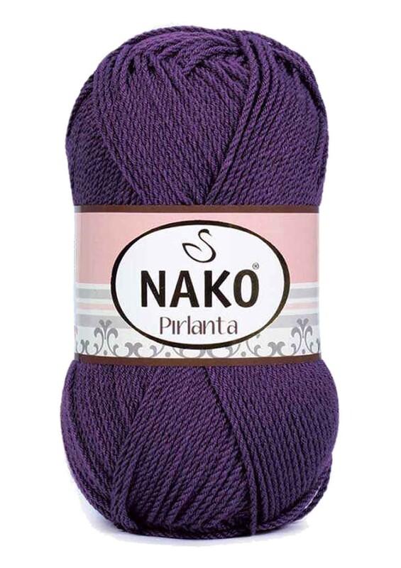 NAKO - Nako Pırlanta El Örgü İpi 100 gr | Mürdüm 60
