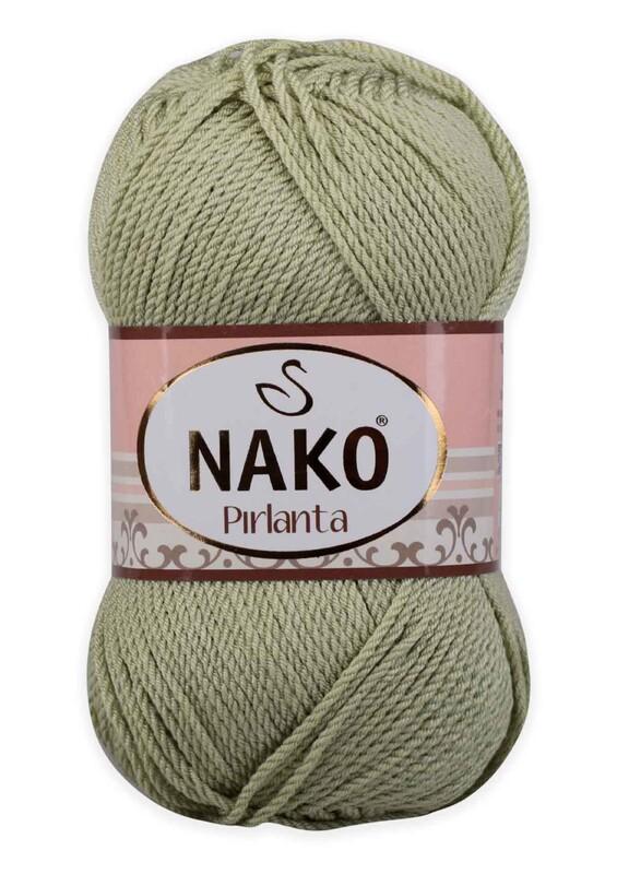 NAKO - Nako Pırlanta El Örgü İpi 100 gr | Deniz Köpüğü 10492