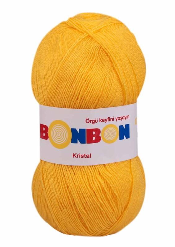 NAKO - Bonbon Kristal El Örgü İpi 100 gr | Sarı 98217