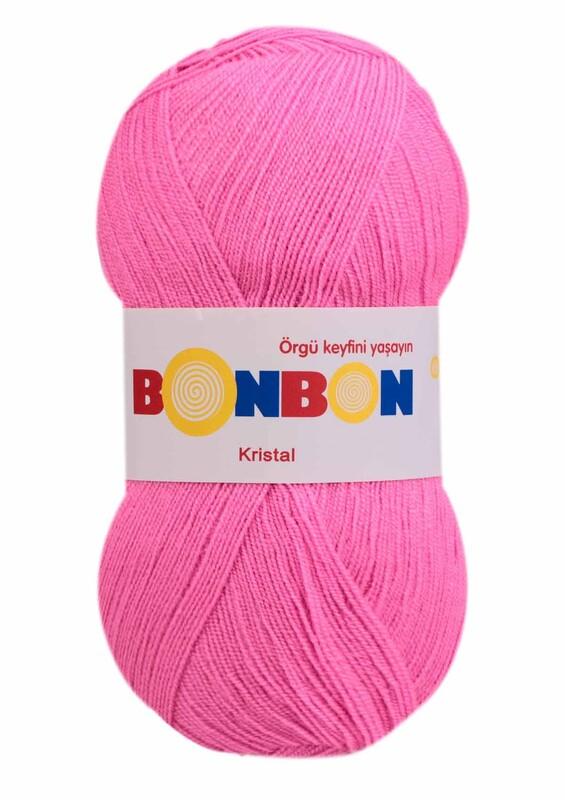 NAKO - Bonbon Kristal El Örgü İpi 100 gr | Pembe 98240