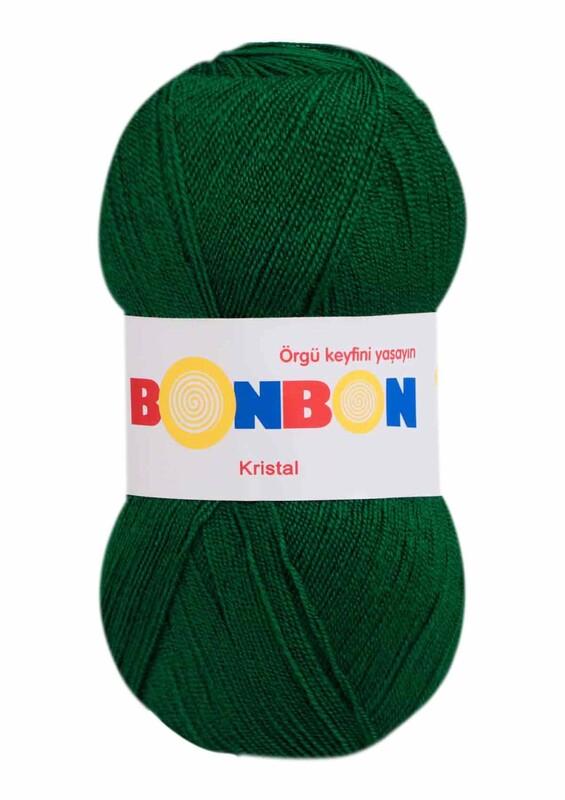 NAKO - Bonbon Kristal El Örgü İpi 100 gr | Yeşil 98596