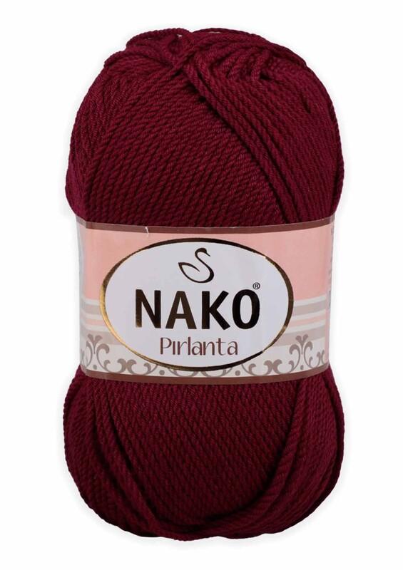 NAKO - Nako Pırlanta El Örgü İpi 100 gr | Bordo 6736
