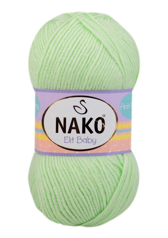 NAKO - Nako Elit Baby El Örgü İpi 100 gr | Fıstık 6712