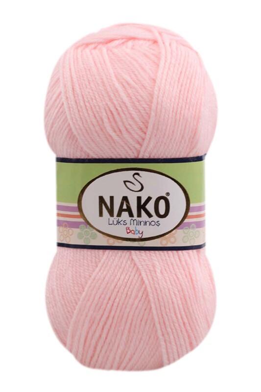 NAKO - Nako Lüks Minnoş El Örgü İpi 100 gr | Lilöz Pembe 2197
