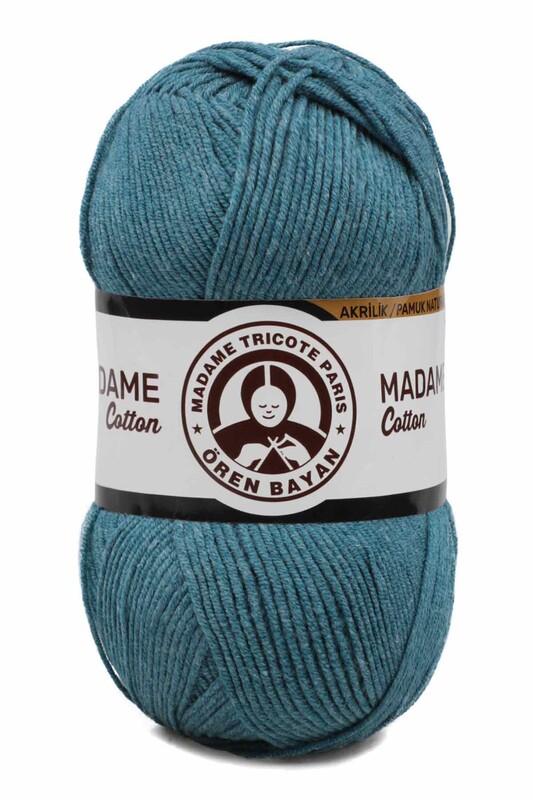 ÖREN BAYAN - Ören Bayan Madame Cotton El Örgü İpi Kot Mavi 050