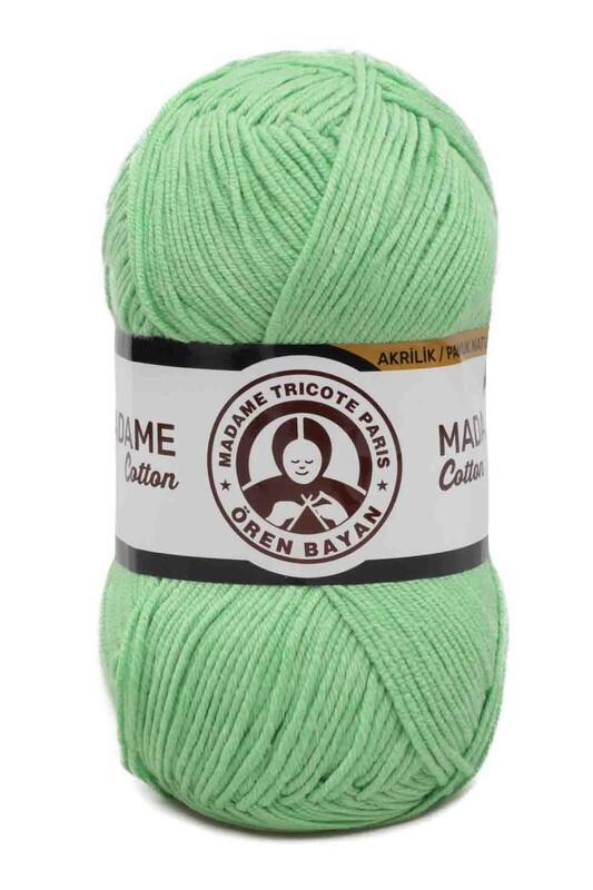 ÖREN BAYAN - Ören Bayan Madame Cotton El Örgü İpi Fıstık Yeşil 052