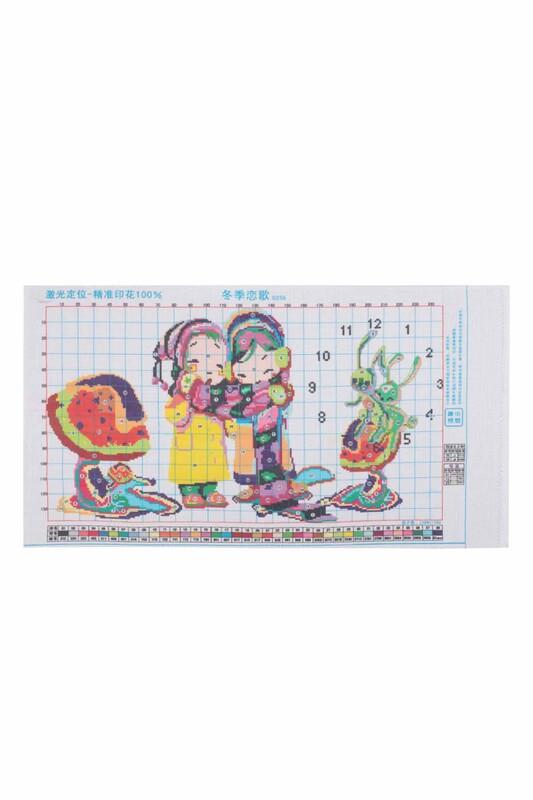 SİMİSSO - Çocuk Baskılı Goblen Seti 0255 65x40