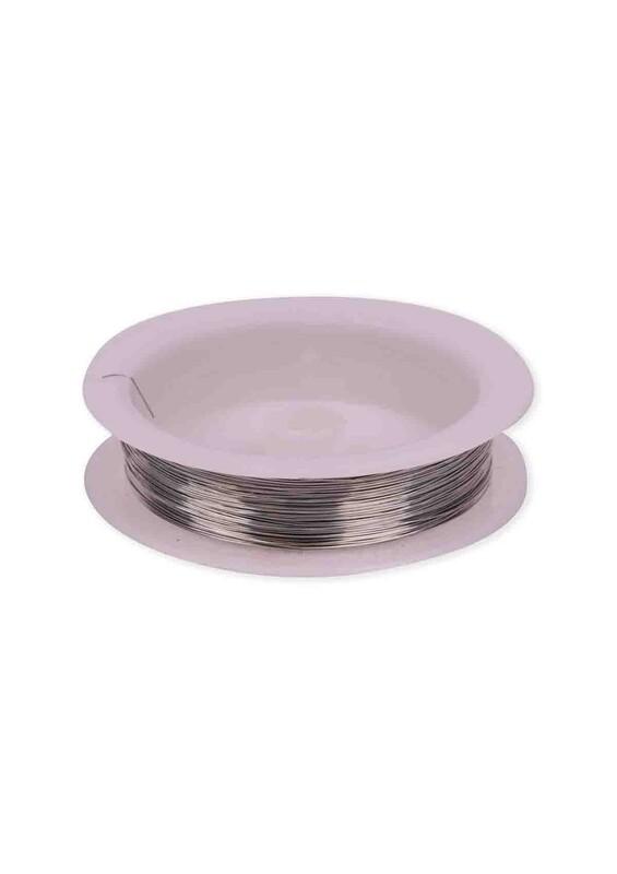 SİMİSSO - Renkli Çelik Tel 3 mm | Gümüş