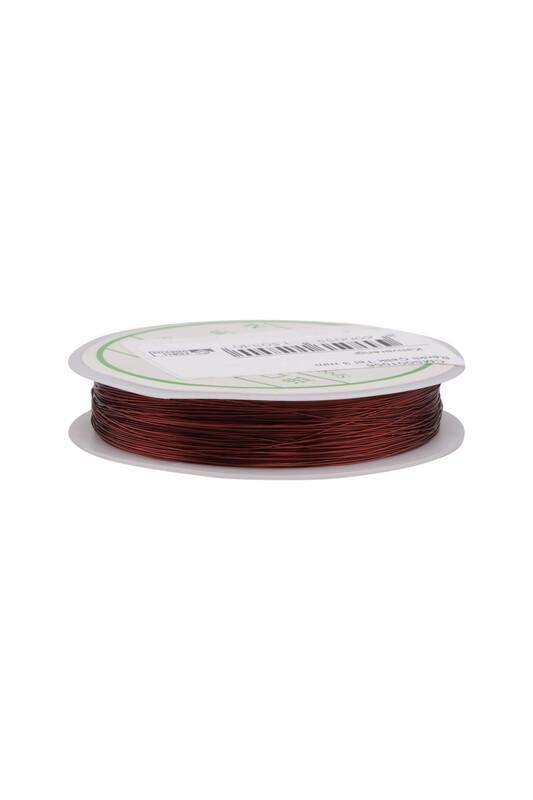 SİMİSSO - Renkli Çelik Tel 3 mm | Kahverengi