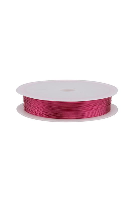 SİMİSSO - Renkli Çelik Tel 3 mm   Pembe