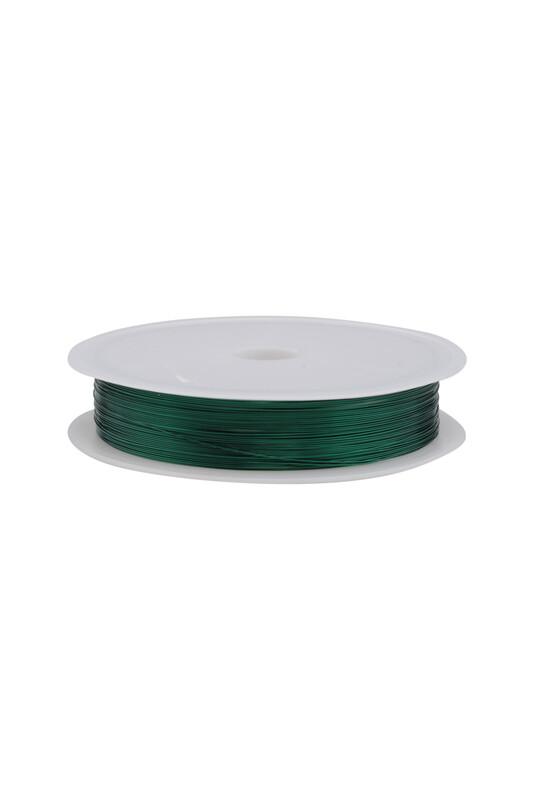 SİMİSSO - Renkli Çelik Tel 3 mm | Zümrüt
