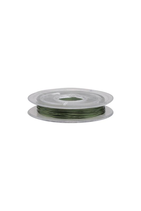 SİMİSSO - Renkli Tel 0.1 mm | Yeşil