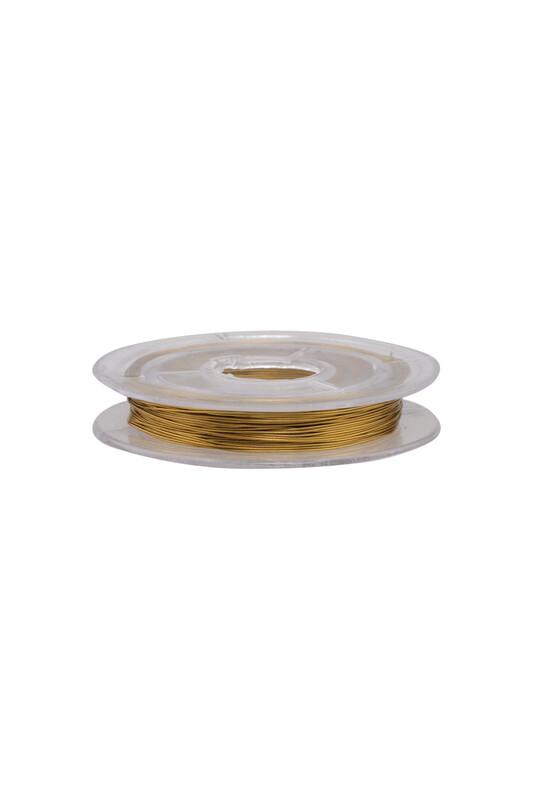 SİMİSSO - Renkli Tel 0.1 mm | Sarı