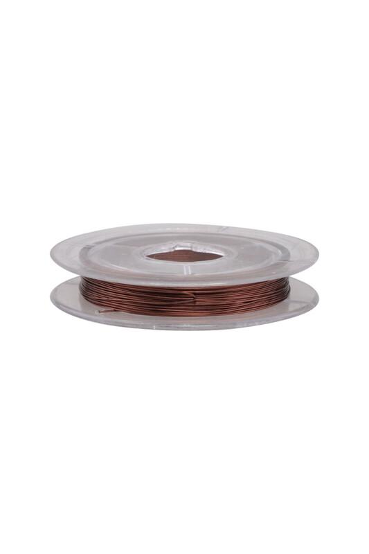 SİMİSSO - Renkli Tel 0.1 mm | Kahverengi
