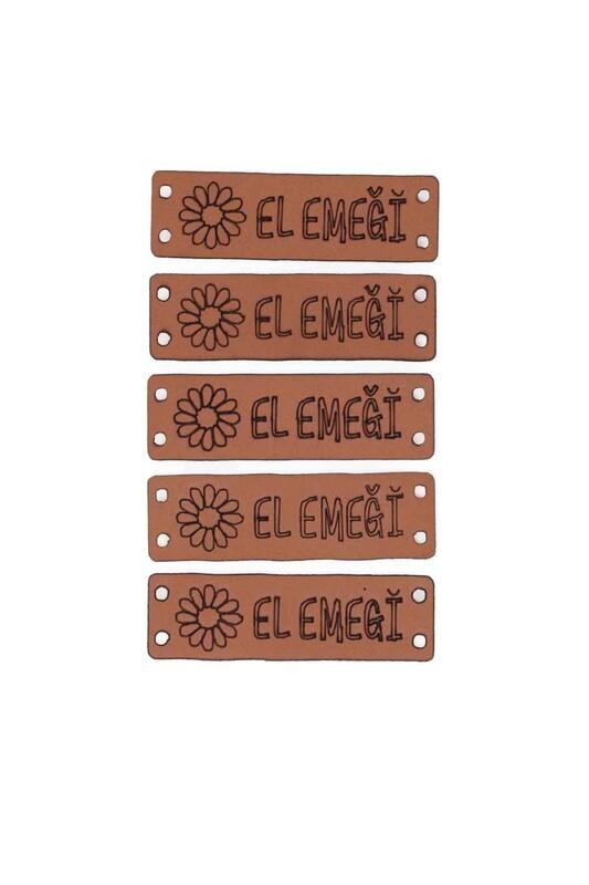 SİMİSSO - Deri Handmade Etiketi Model 1