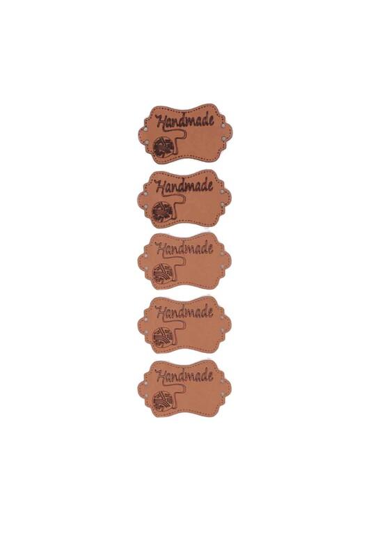 SİMİSSO - Deri Handmade Etiketi Model 2