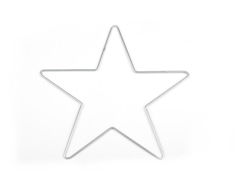 SİMİSSO - Yıldız Figürlü Makrome Teli 30x32