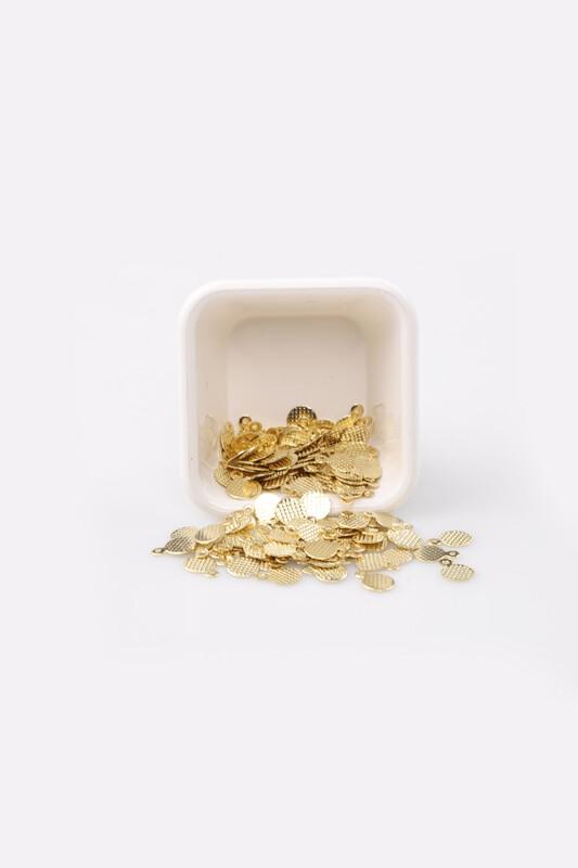 PULSAN - Pulsan Demir Pul Altın Kulplu Yuvarlak 009 23 gr
