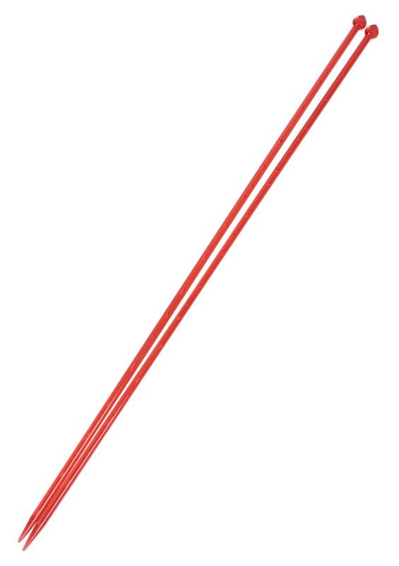 SULTAN - Sultan Havalı Şiş 35 cm Kırmızı 4 mm