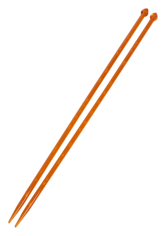 SULTAN - Sultan Havalı Şiş 35 cm Turuncu 6 mm
