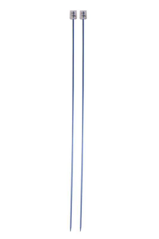 SULTAN - Sultan Renkli Metalik Örgü Şişi 35 Cm 2.5 mm