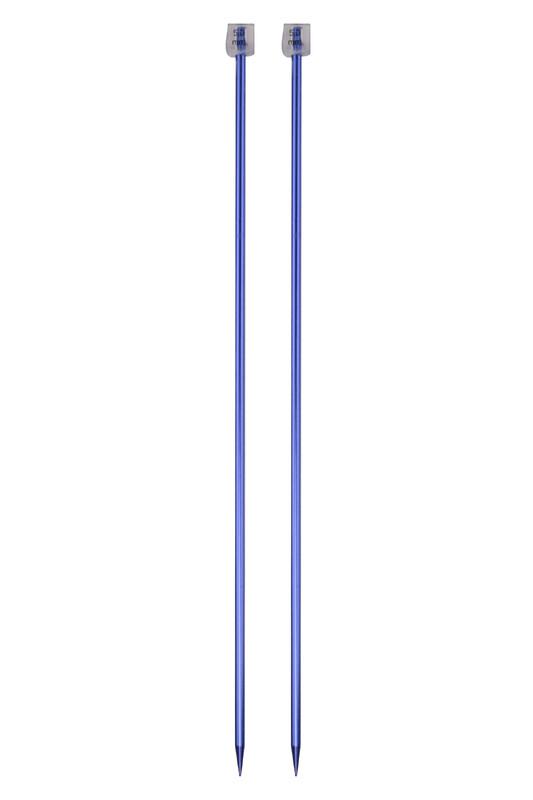 SULTAN - Sultan Renkli Metalik Örgü Şişi 35 Cm 5 mm