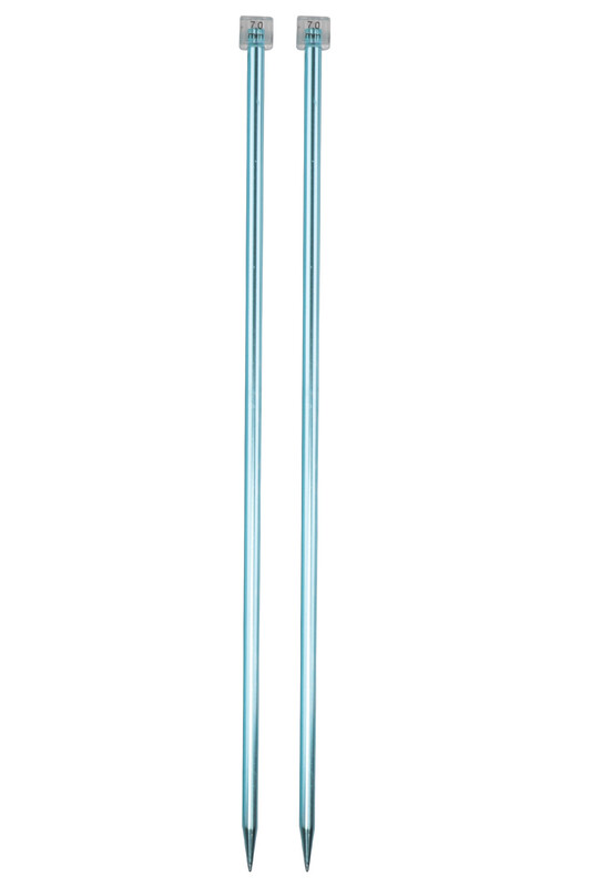 SULTAN - Sultan Renkli Metalik Örgü Şişi 35 Cm 7 mm