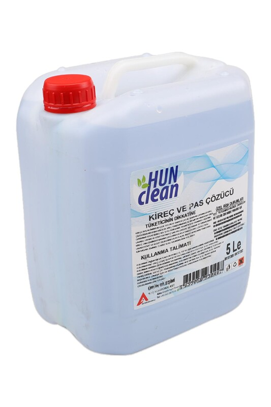 HUN CLEAN - Hun Clean Kireç Ve Pas Çözücü 5 Lt