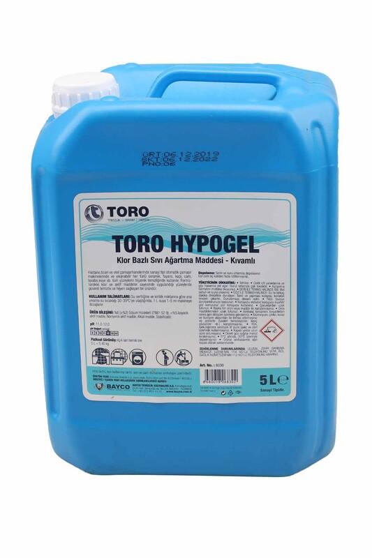 Toro - Toro Hypogel Çamaşır Suyu 5 Lt