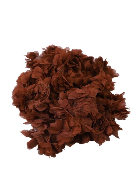 SİMİSSO - Simisso Lazer Kesim Çiçek 142 | Kahverengi