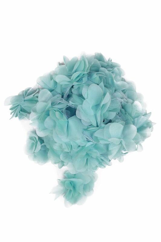 SİMİSSO - Lazer Kesim Şerit Çiçek 99 Mint