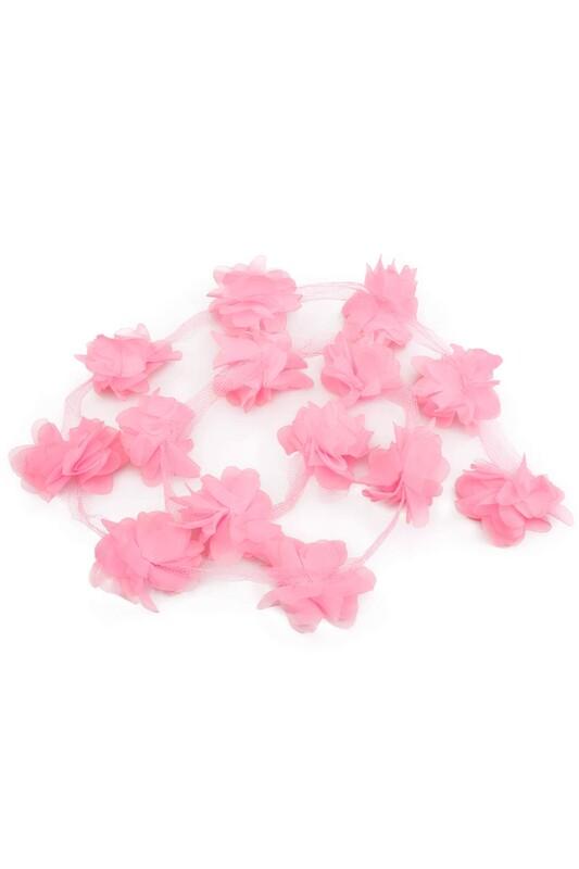 SİMİSSO - Lazer Kesim Şerit Çiçek Yavruağzı 1m